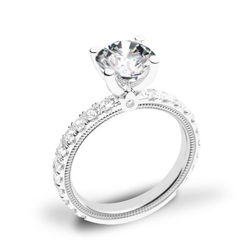 Verragio Tradition TR210R4 Diamond 4 Prong Engagement Ring