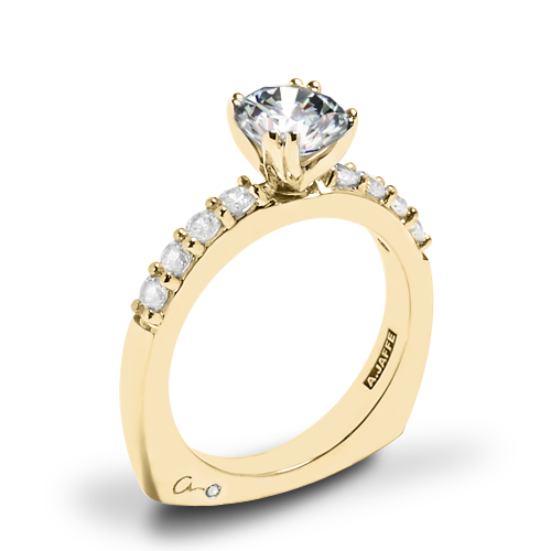 A. Jaffe MES078 Classics Diamond Engagement Ring