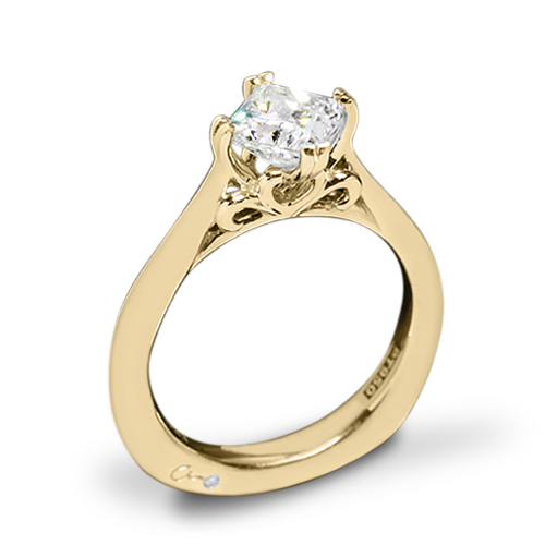 A. Jaffe MES438 Seasons of Love Solitaire Engagement Ring