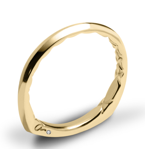 A. Jaffe MRS837Q Wedding Ring