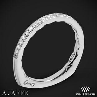 A. Jaffe MRS753Q Seasons of Love Diamond Wedding Ring