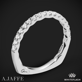 A. Jaffe MRS755Q Seasons of Love Diamond Wedding Ring