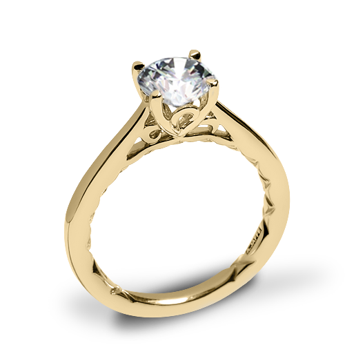 A. Jaffe ME1569Q Seasons of Love Solitaire Engagement Ring