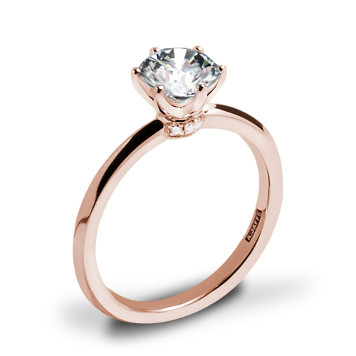 A. Jaffe ME1689 Classics Solitaire Engagement Ring