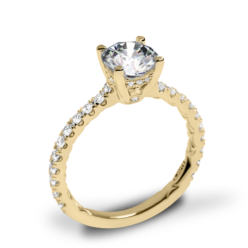 A. Jaffe ME1853Q Classics Diamond Engagement Ring