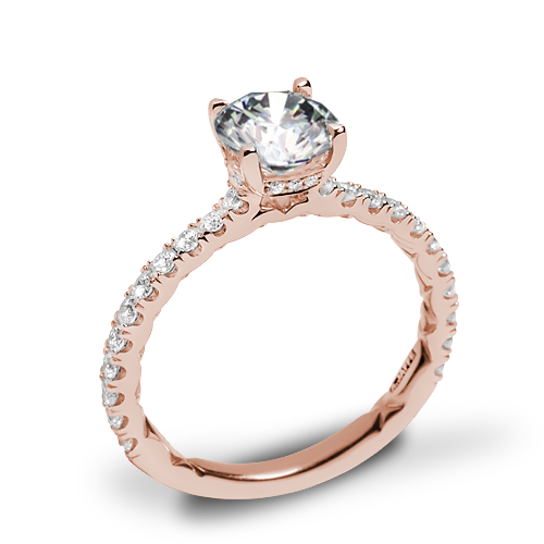 A. Jaffe ME1865Q Classics Diamond Engagement Ring