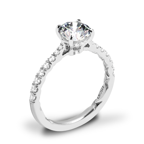 A. Jaffe ME2141Q Diamond Engagement Ring