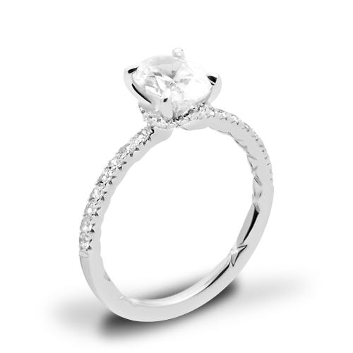 A. Jaffe ME2175Q Classics Diamond Engagement Ring