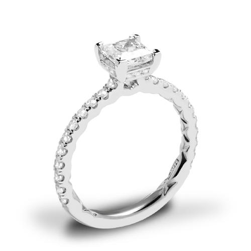 A. Jaffe ME2251Q Diamond Engagement Ring