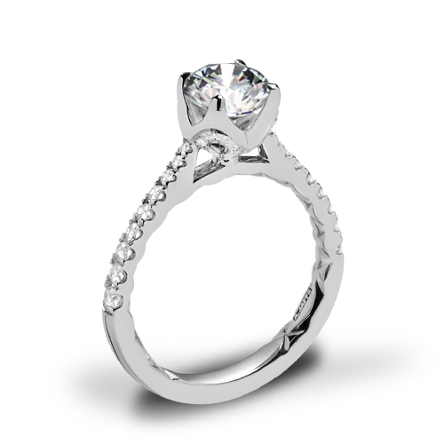 A. Jaffe ME2252Q Diamond Engagement Ring