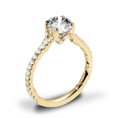 A. Jaffe ME3001QB Diamond Engagement Ring