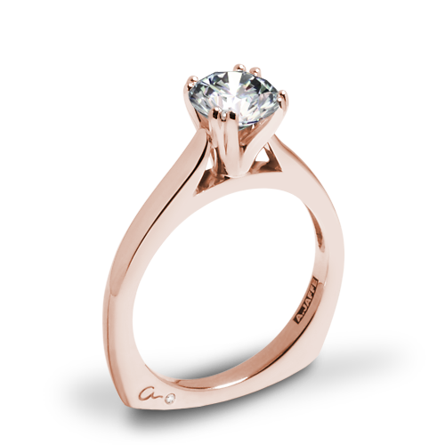 A. Jaffe MES166 Classics Solitaire Engagement Ring