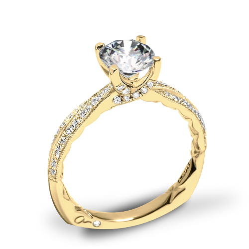 A. Jaffe MES740Q Seasons of Love Diamond Engagement Ring