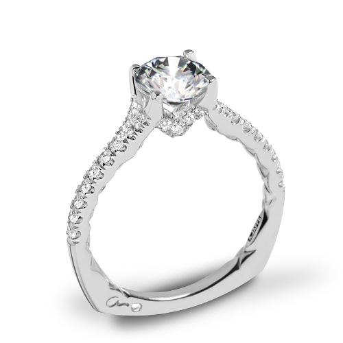 A. Jaffe MES742QB Classics Diamond Engagement Ring