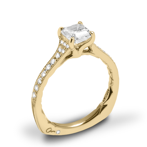 A. Jaffe MES753Q Seasons of Love Diamond Engagement Ring