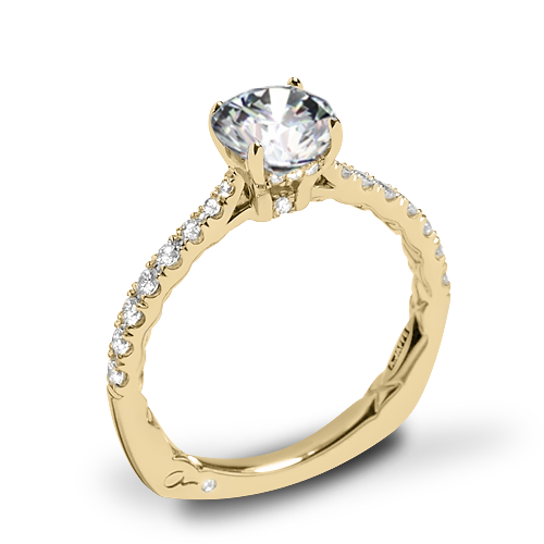 A. Jaffe MES755Q Seasons of Love Diamond Engagement Ring