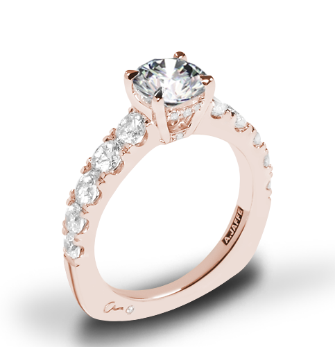 A. Jaffe MES870 Metropolitan Diamond Engagement Ring