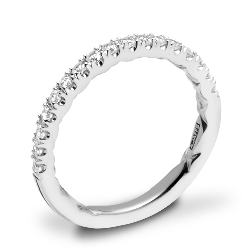 A. Jaffe MR2141Q Diamond Wedding Ring