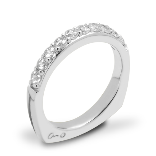 A. Jaffe MRS078 Classics Diamond Wedding Ring
