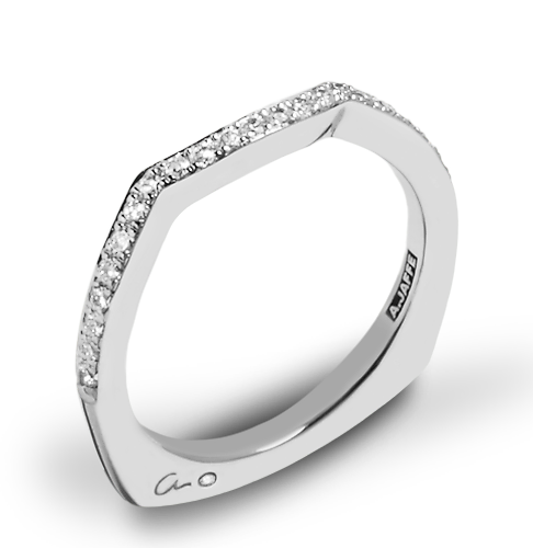 A. Jaffe MRS463 Seasons of Love Diamond Wedding Ring
