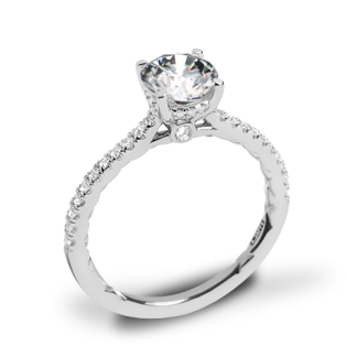 A. Jaffe ME2029Q Classics Diamond Engagement Ring