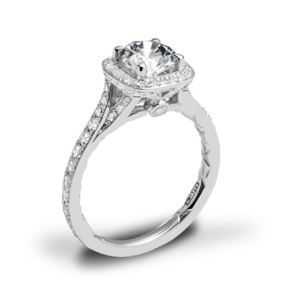 A. Jaffe ME2256Q Halo Diamond Engagement Ring