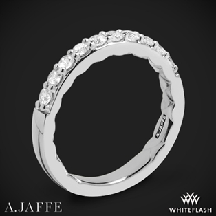 A. Jaffe MR1401Q Classics Diamond Wedding Ring