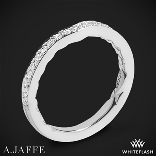 A. Jaffe MR1569Q Seasons of Love Diamond Wedding Ring