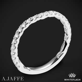 A. Jaffe MR1853Q Classics Diamond Wedding Ring