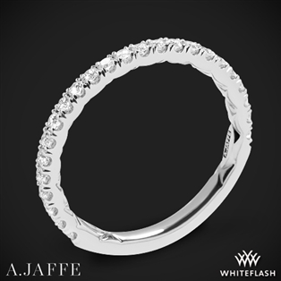 A. Jaffe MR1865Q Classics Diamond Wedding Ring