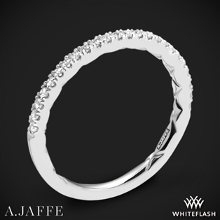 A. Jaffe MR2029Q Classics Diamond Wedding Ring