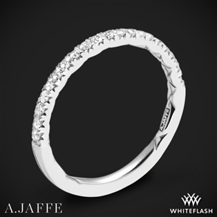 A. Jaffe MR2167Q Classics Diamond Wedding Ring