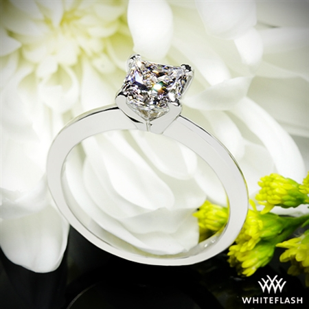 The ring is perfect. It is such a beautiful cut!