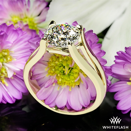 The beautiful ring sparkles and gets many compliments!!!