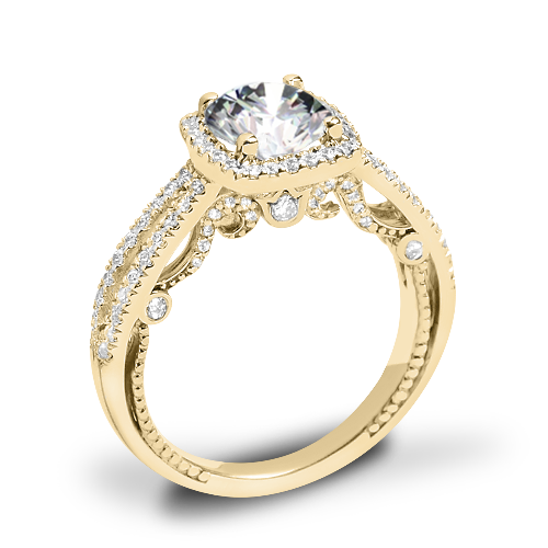 Verragio INS-7069CU Diamond Halo Engagement Ring