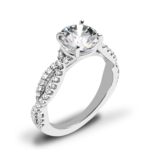 Ritani 1RZ1319 Diamond Engagement Ring