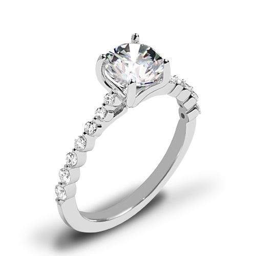 Ritani 1RZ1511 Diamond Engagement Ring