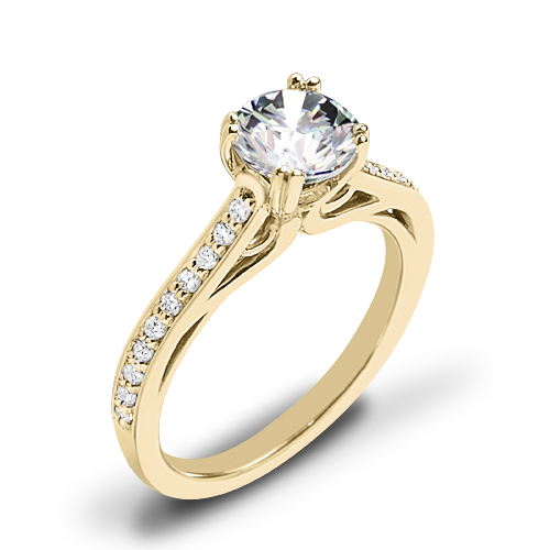 Ritani 1RZ2718 Diamond Engagement Ring