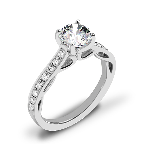 Ritani 1RZ2801 Diamond Engagement Ring