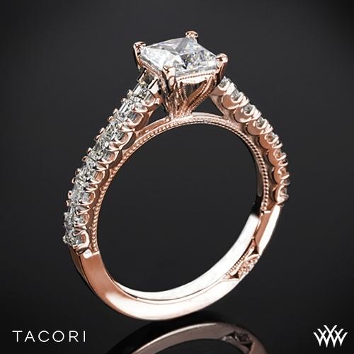 Tacori 35-2PR Clean Crescent Diamond Engagement Ring