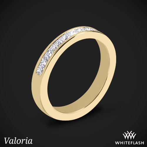 Princess Channel-Set Diamond Wedding Ring
