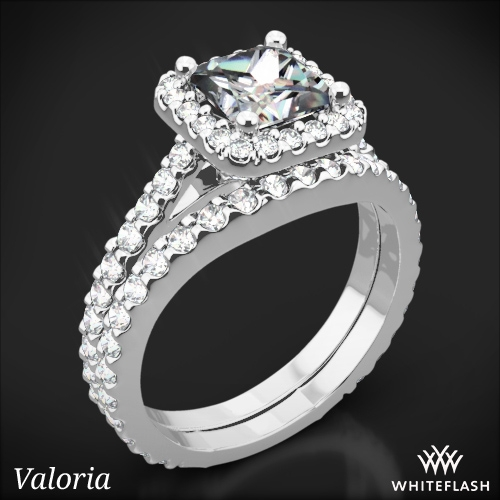 Amphora Diamond Wedding Set for Princess