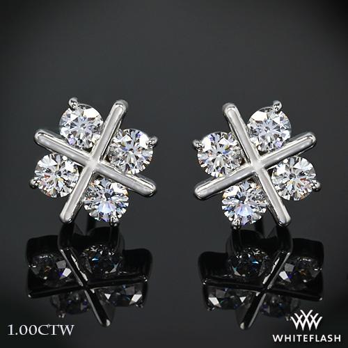 XO Diamond Earrings