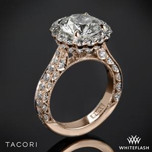 Tacori HT2605RD95 RoyalT Bloom Diamond Engagement Ring
