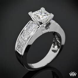 """Fiotto"" Diamond Engagement Ring"