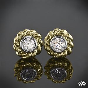 Braid Diamond Earrings