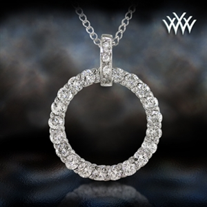 'Circle Of Life II' Diamond Pendant
