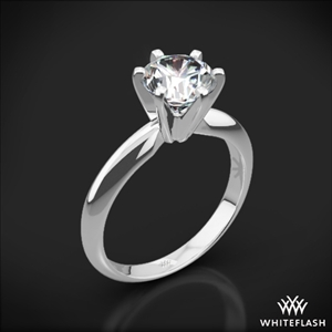 Classic 6 Prong Solitaire Engagement Ring